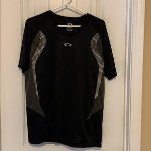 Oakley 'dri fit' type athletic shirt